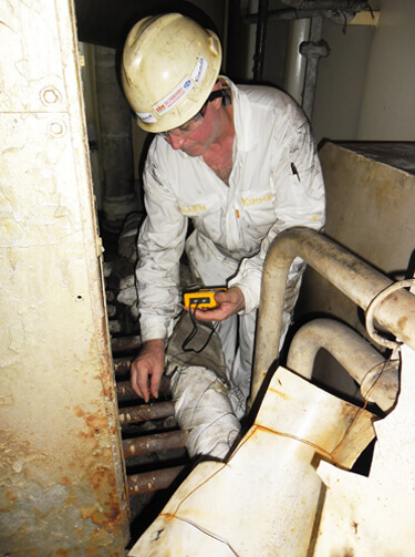 Boiler inspection services
