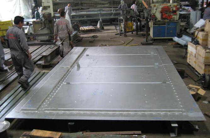 Boiler casings